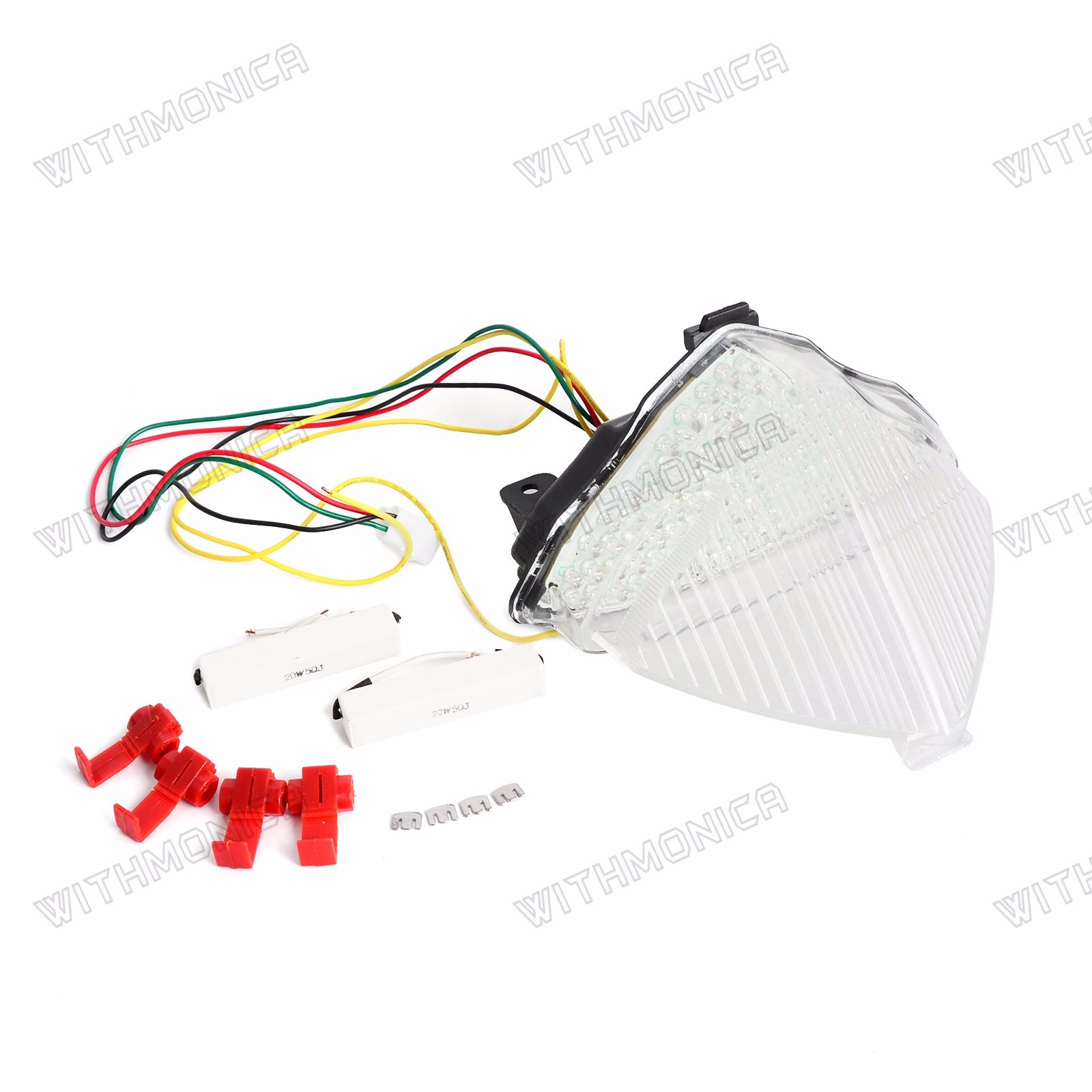 Led Taillight Tail Light Integrated Turn Signal For Yamaha Yzf R1 2006 Wiring Diagram 2004