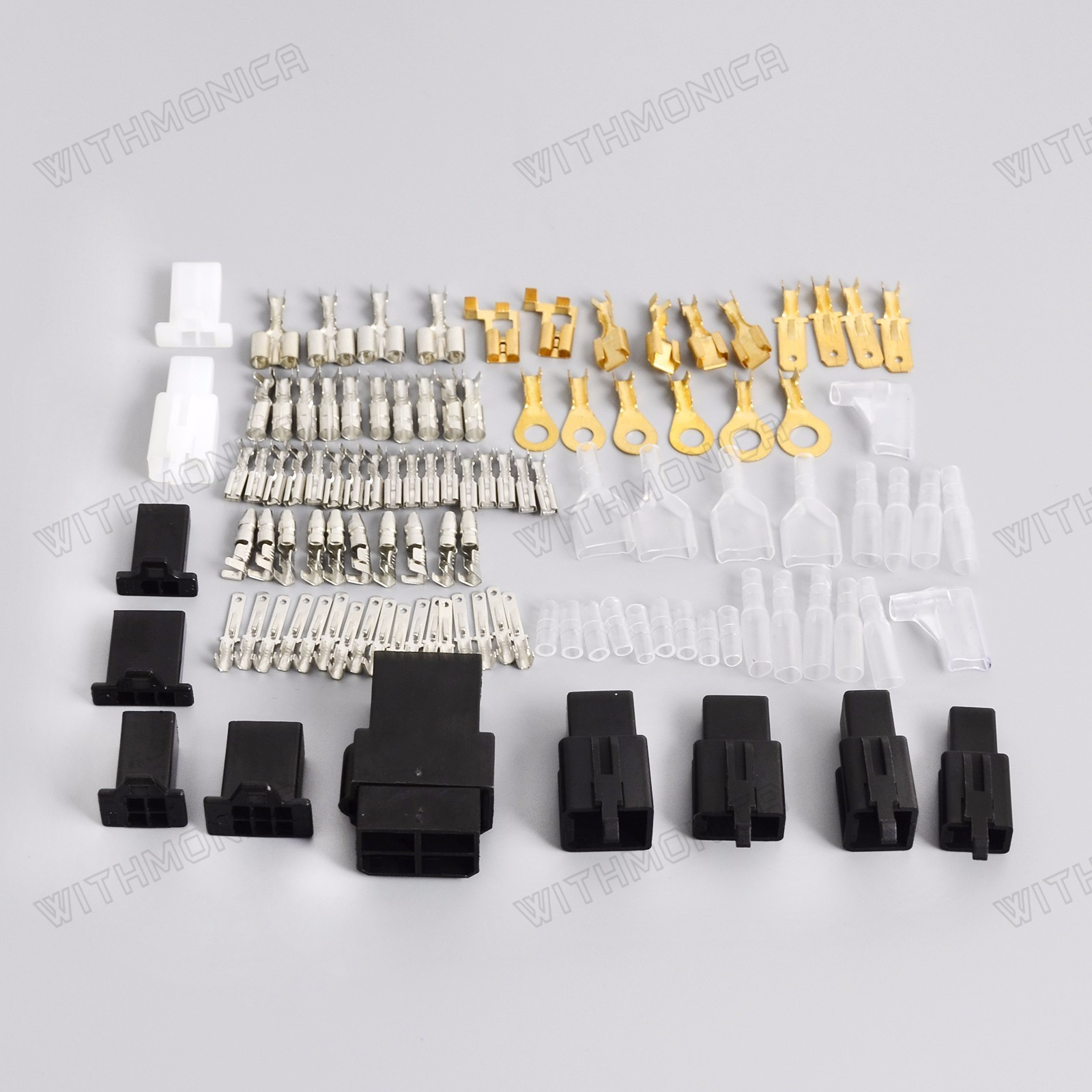 Universal Motorcycle Electrical Wiring Harness Repair Connector Kit Home In 1954 Plugs Bullet