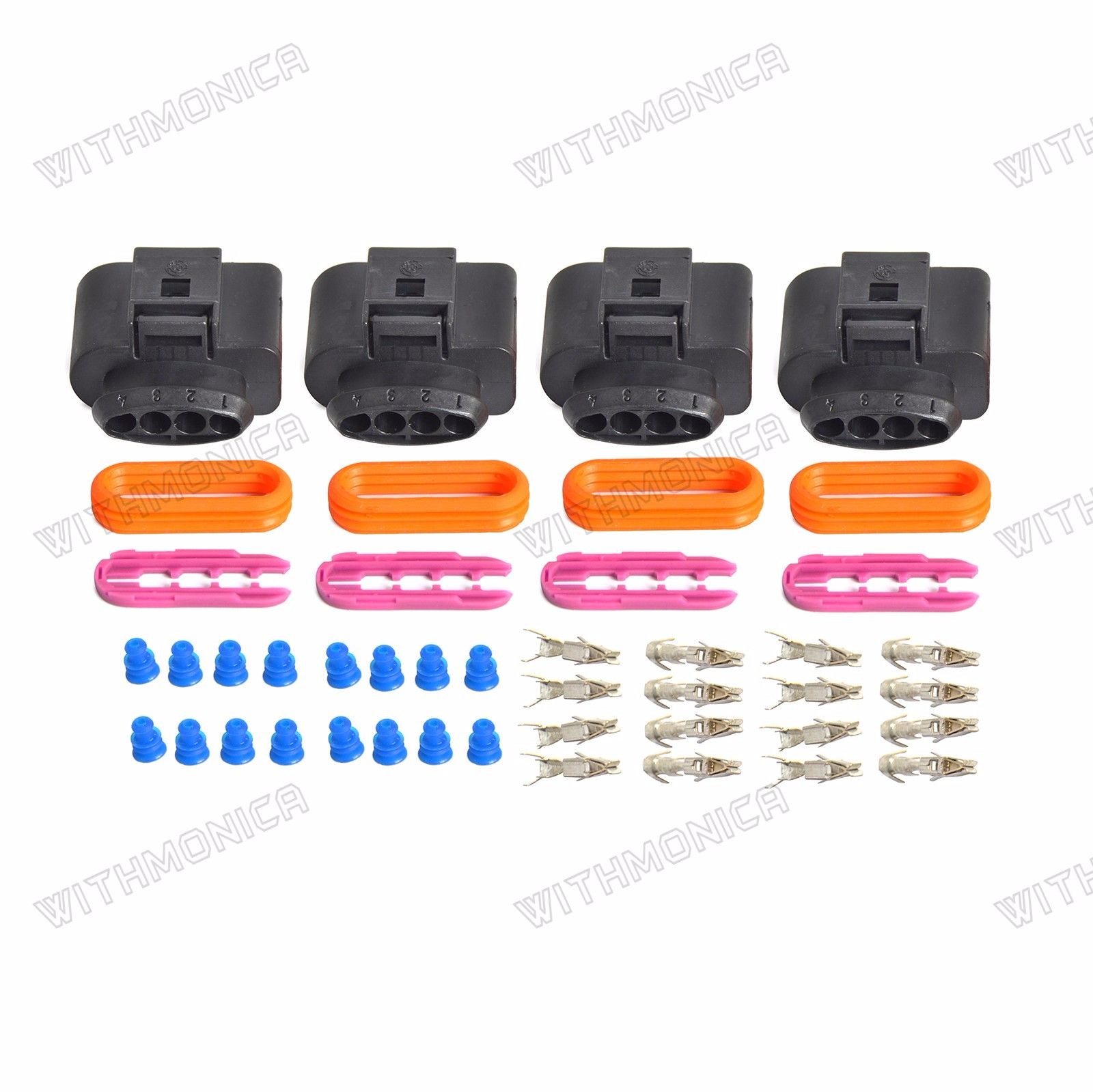 ignition coil wiring harness connector repair kit for audi a4 a6 vw rh ebay com Automotive Wiring Kit Automotive Wiring Kit
