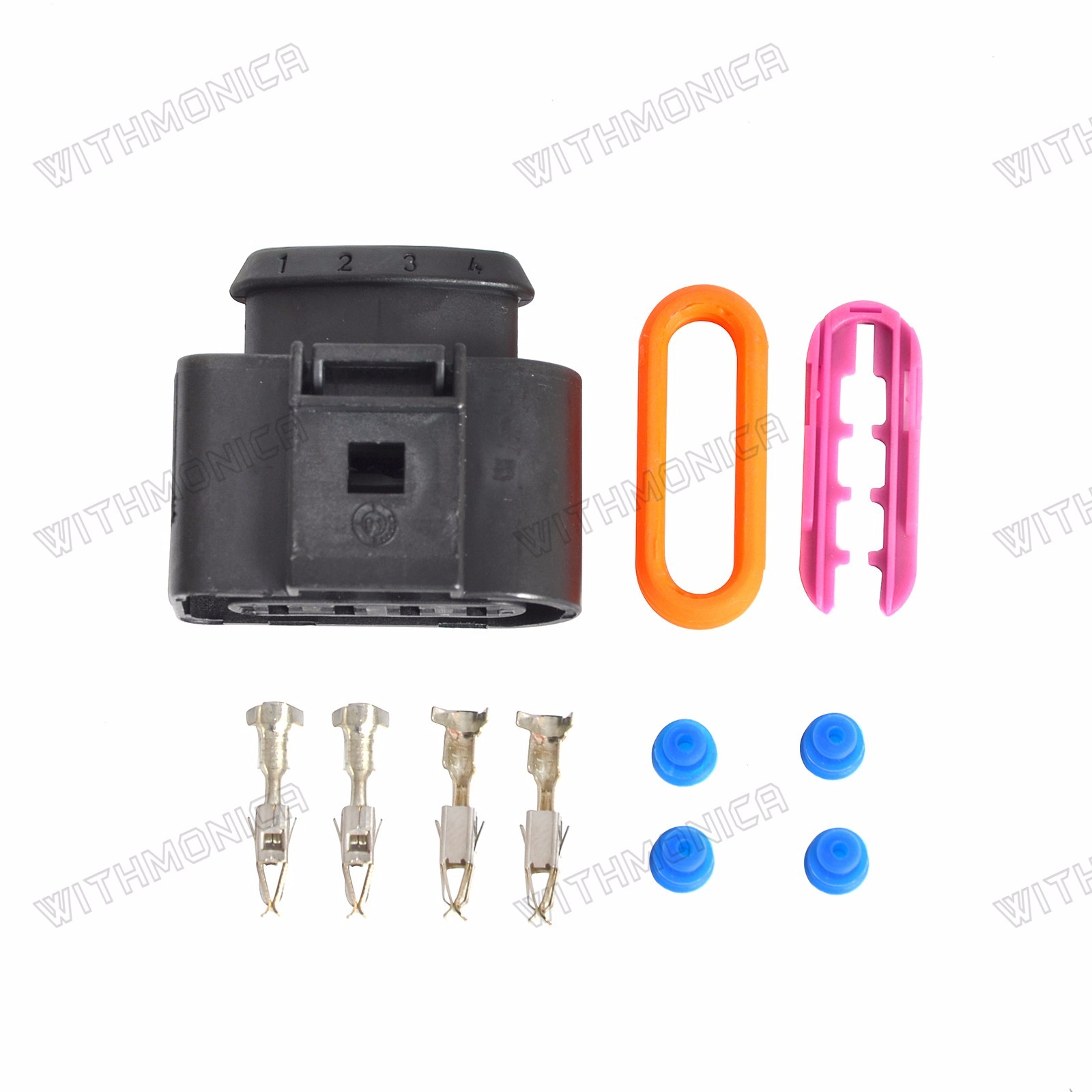 Ignition Coil Wiring Harness Connector Repair Kit Fits For Audi A4 Vw Clips A6 A8passat Jetta
