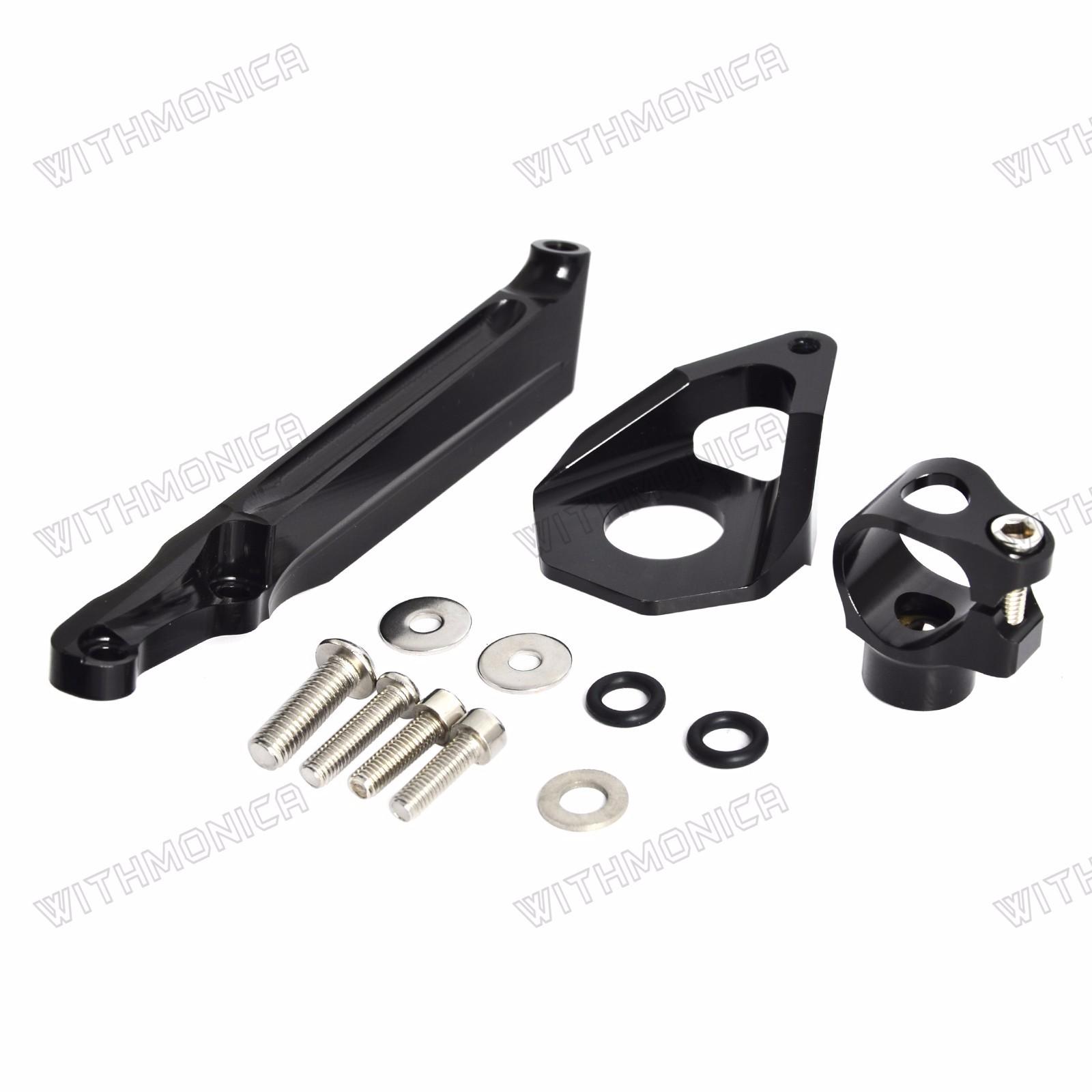 Details About Cnc Steering Damper Stabilizer Bracket Mounting For Honda Cbr600rr 2005 2006