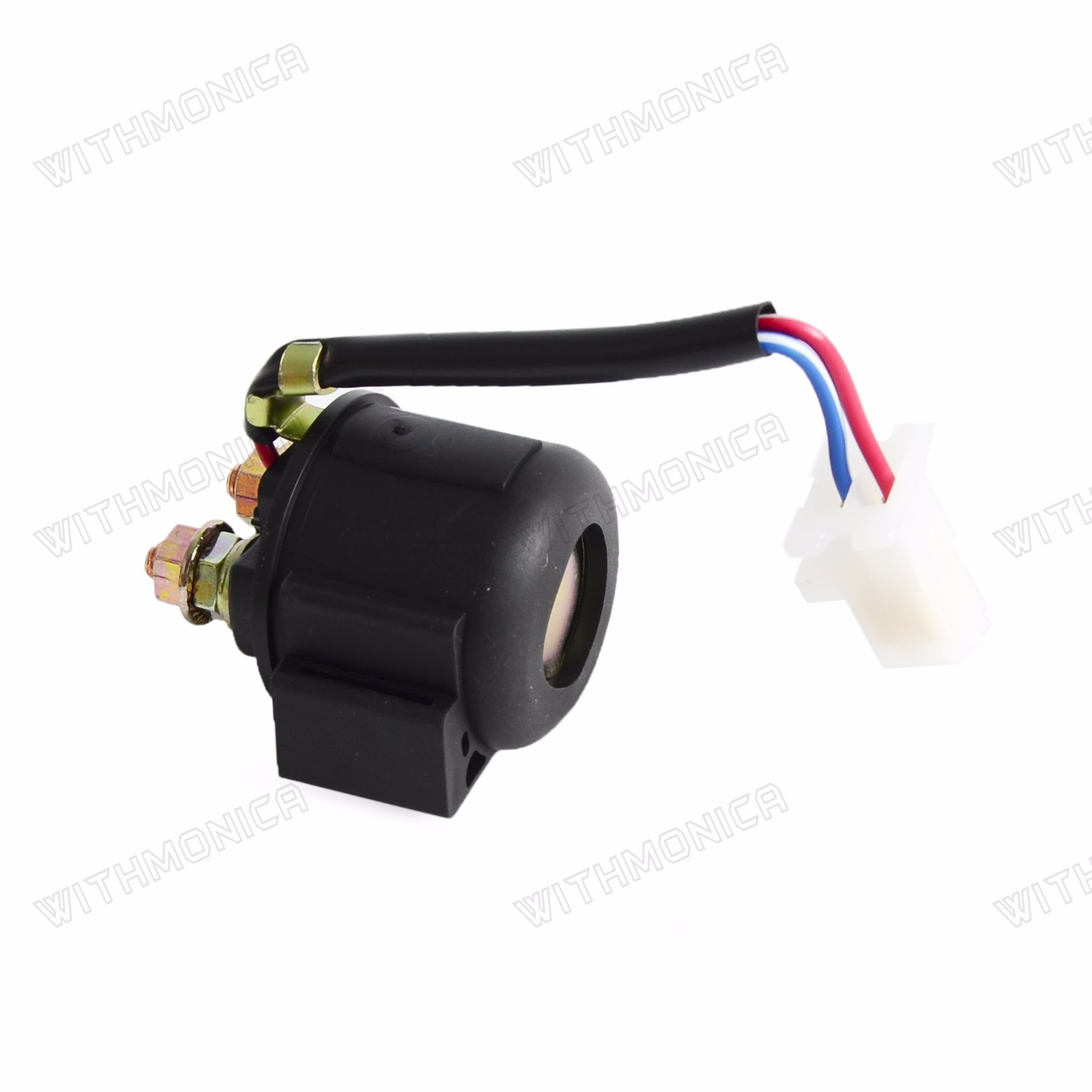 Starter Solenoid Relay Fits For Yamaha Warrior 350 Yfm350 1987-2003 Atv New