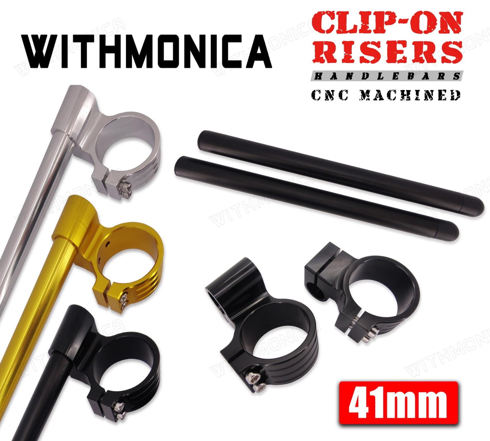 Clipons 41mm Clip-On Handlebars Fit Kawasaki 1991 1992 1993 2000 ZR750
