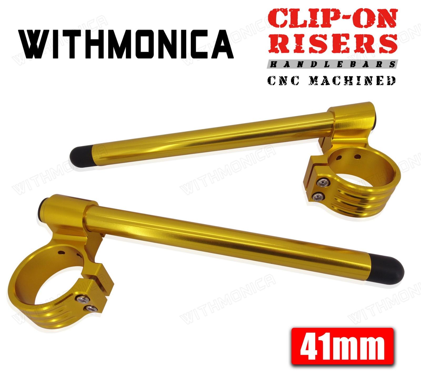 41mm Cnc 1 Riser Clip Ons Handlebar For Kawasaki Zzr 1100 Ninja Zx 1996 Wiring Diagram 11 1995 1997