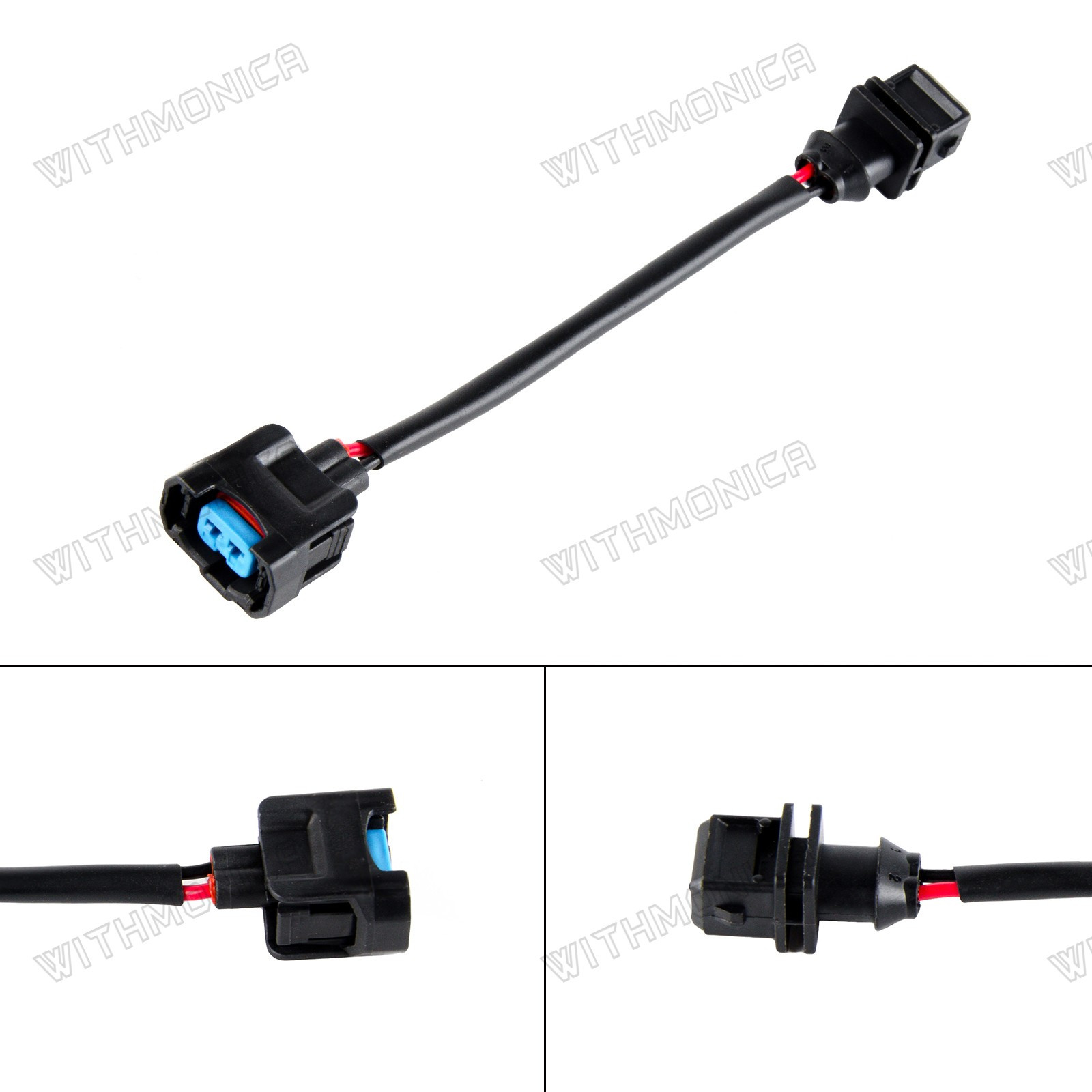 Obd1 To Obd2 Ev1 Fuel Injector Conversion Jumper Harness Adapter Plug For Honda