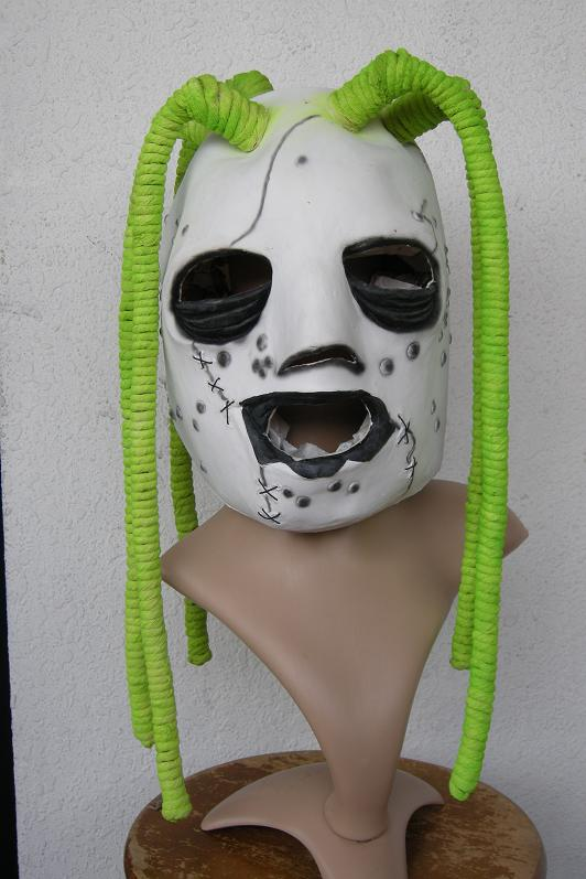 Slipknot Corey Taylor Style IOWA Latex Dreadlock MASK ...
