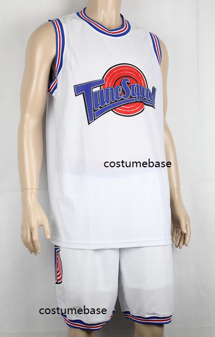 buy online 9077b f7829 Space Jam Basketball Jersey Shorts Set 23 Tune Squad ...
