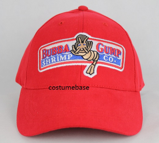 1994 BUBBA GUMP SHRIMP CO. Baseball Cap Embroidered Hat Forrest Gump  Costume New 4549834253344  f49ab80c8c2