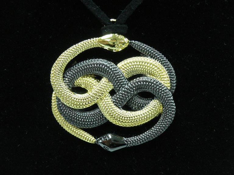 Auryn pendant neverending story tailsman amulet prop ebay color gold and antique silver mozeypictures Choice Image
