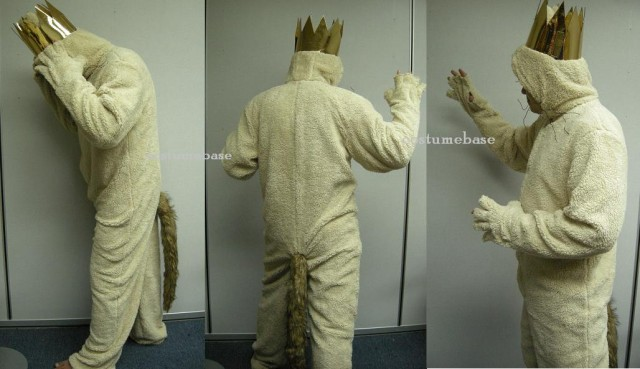 Where The Wild Things Are Wolf King Max Costume Hoodie
