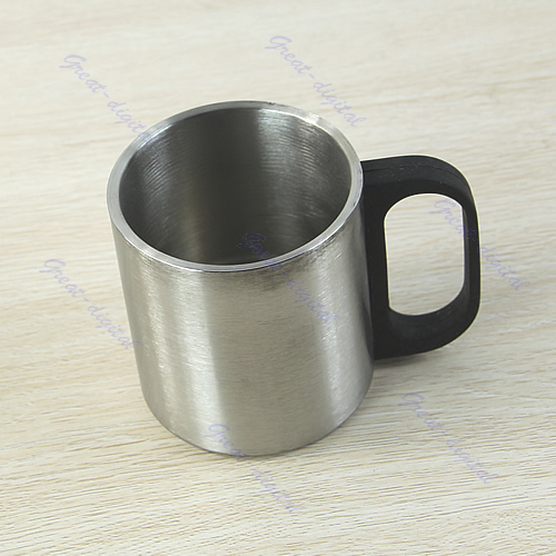 outdoor camping stainless steel coffee mug tumbler mug double wall