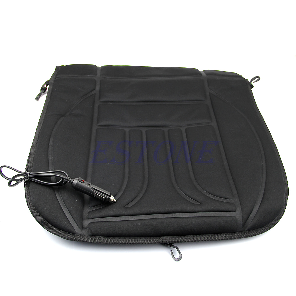 Car Heated Seat Cushion Hot Cover Auto 12V Heat Heating