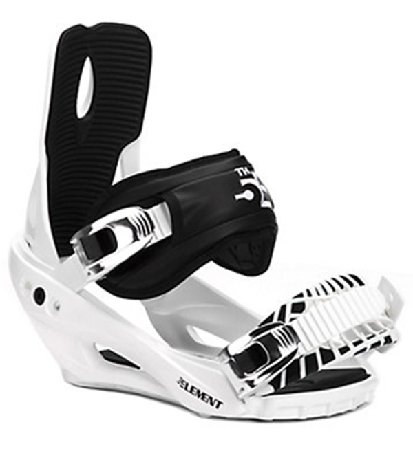 5th Element Stealth 3 Snowboard Bindings 2020: M3 DISCORD 155cm Snowboard+Bindings With Toe Cap Strap