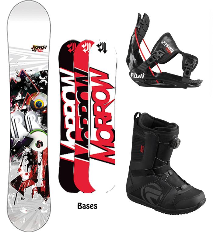 Morrow (K2) RADIUM 159cm WIDE Snowboard+2013 FLOW
