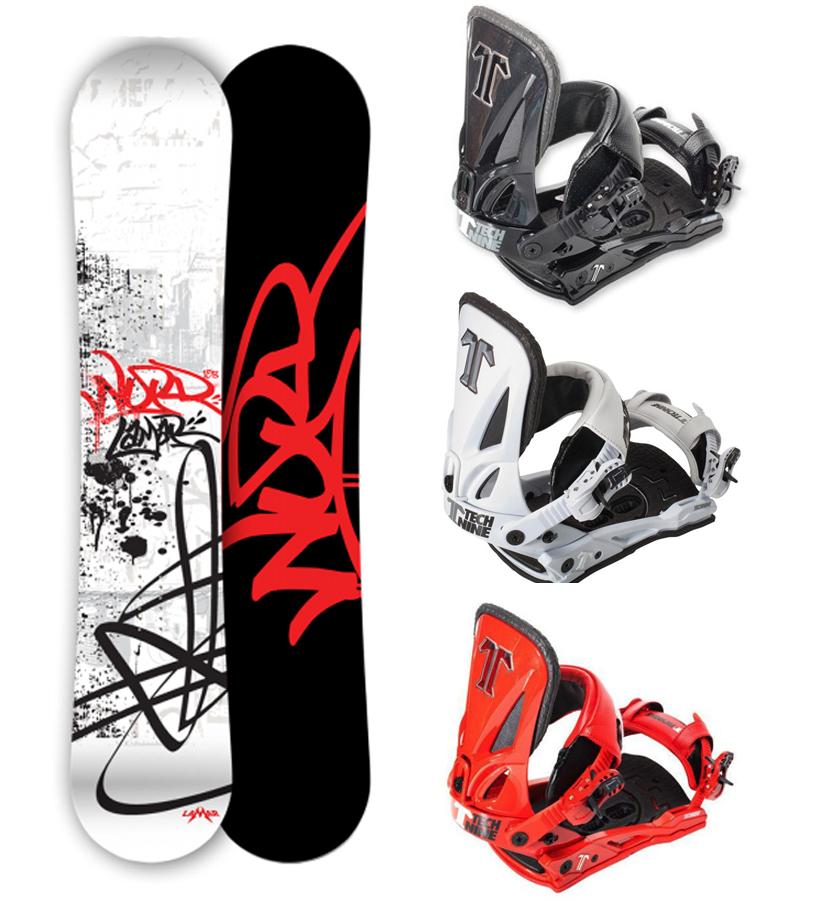 Lamar WORD (WIDE) Snowboard+Matching Technine Split T
