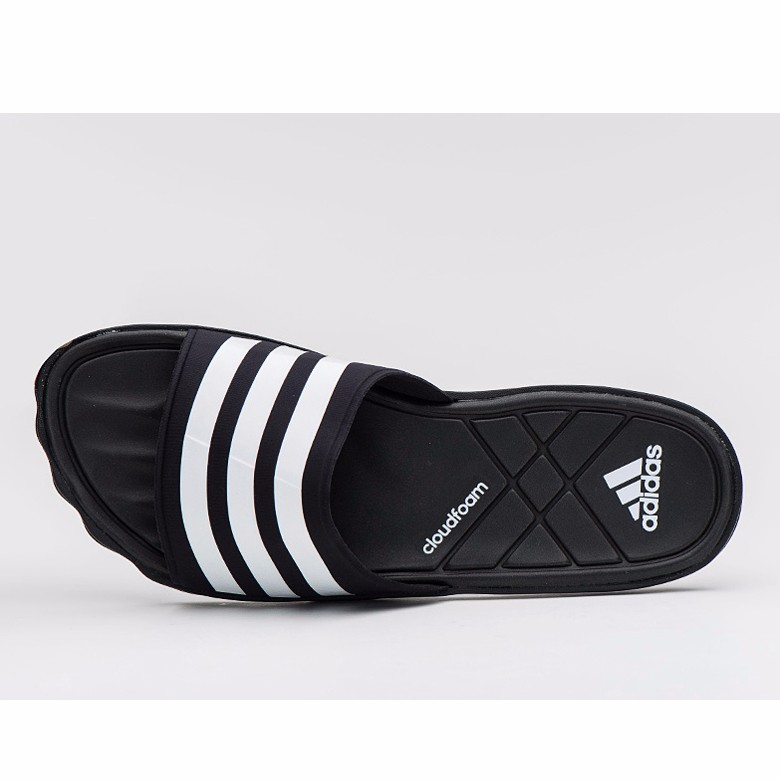 adidas 2017 adipure cf cloudfoam slipper beach sandals black aq3936