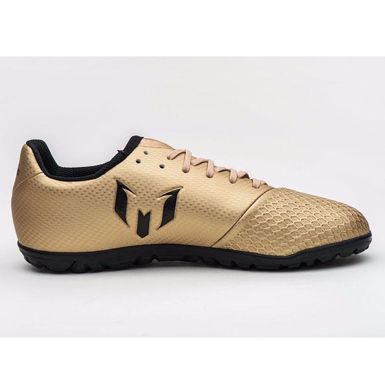 385dcaf26bf ... adidas messi 16.3 tf jr junior soccer cleats football shoes gold black  ba9859
