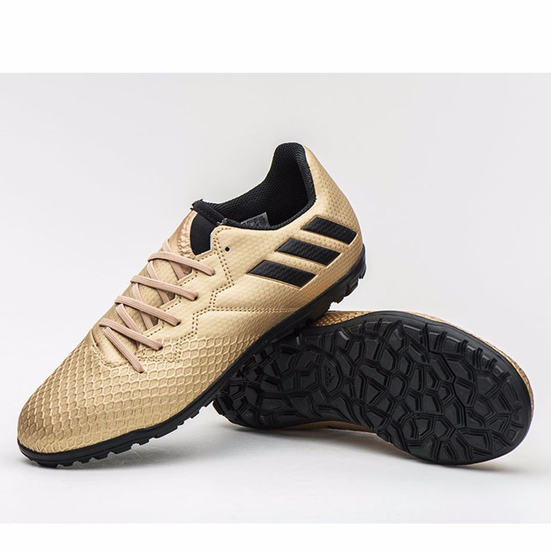 2900f7beb39 ... adidas messi 16.3 tf jr junior soccer cleats football shoes gold black  ba9859. ▷ please