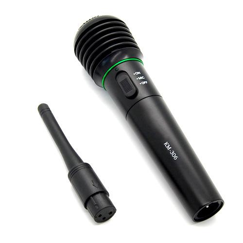 dynamic karaoke vocal wireless wired handheld microphone mic fm receiver system ebay. Black Bedroom Furniture Sets. Home Design Ideas