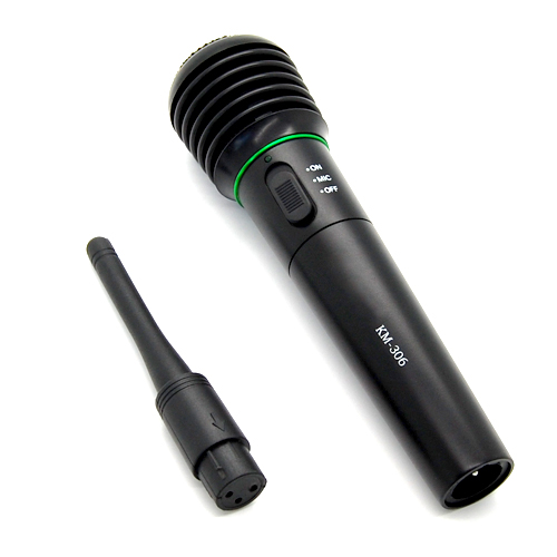 karaoke singing dj professional handheld wireless cordless wired microphone mic ebay. Black Bedroom Furniture Sets. Home Design Ideas