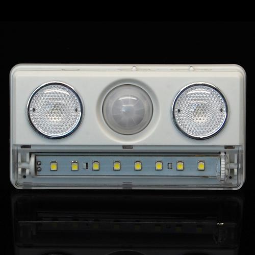 Casalife Led Cabinet Sensor Light: PIR Infrared Motion Sensor Detector Wireless USB