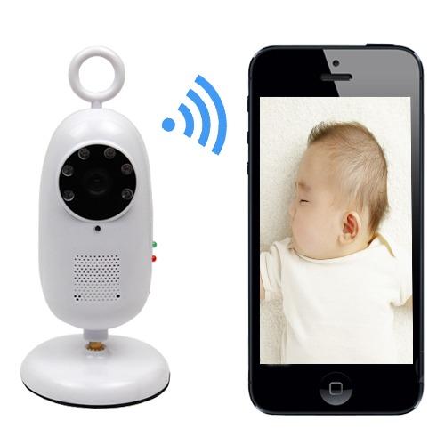2 4ghz Wireless Wifi Smartphone Remote Video Baby Monitor