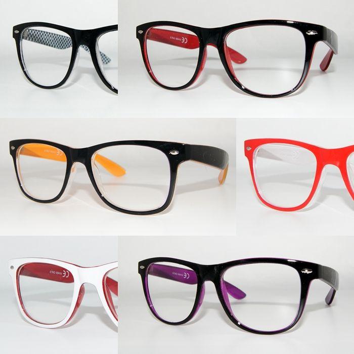 a4216c97f30 Ebay Wayfarer Clear Glasses