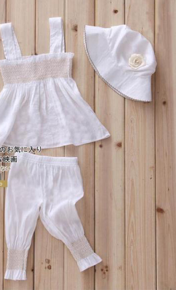 3pcs Kids Baby Girl Ruffletop Trousers Hat Set Outfit Princess Clothes 0 36Month