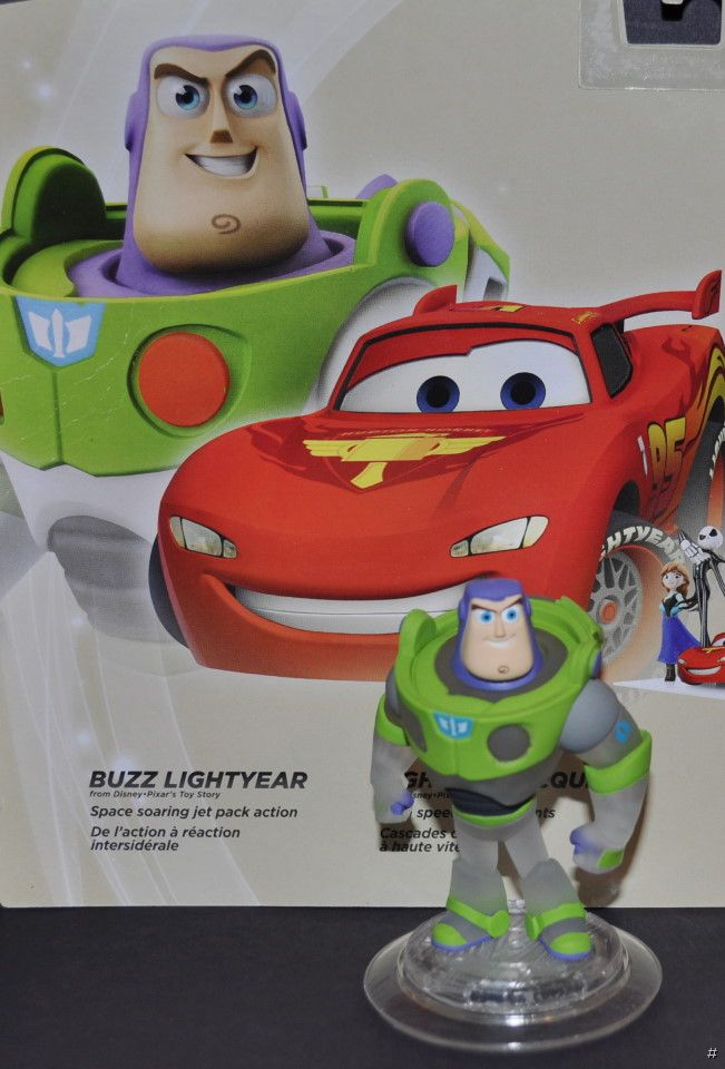 NEW DISNEY INFINITY GAME TOY STORY CRYSTAL CLEAR BUZZ ...