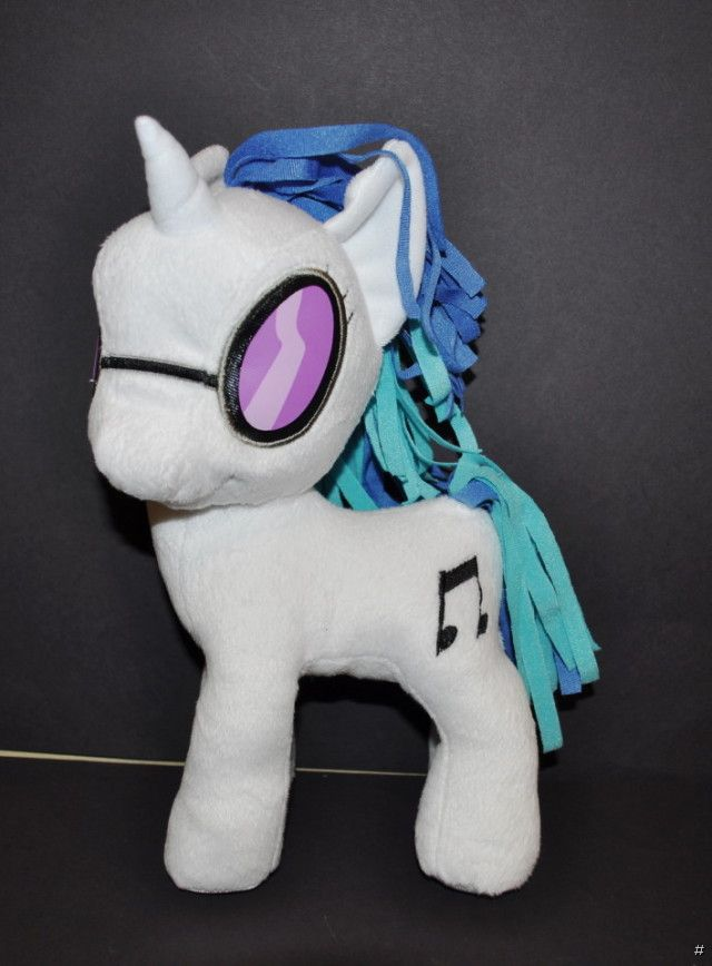 New Hasbro 10 Quot My Little Pony Dj Pon 3 Plush Soft Toy