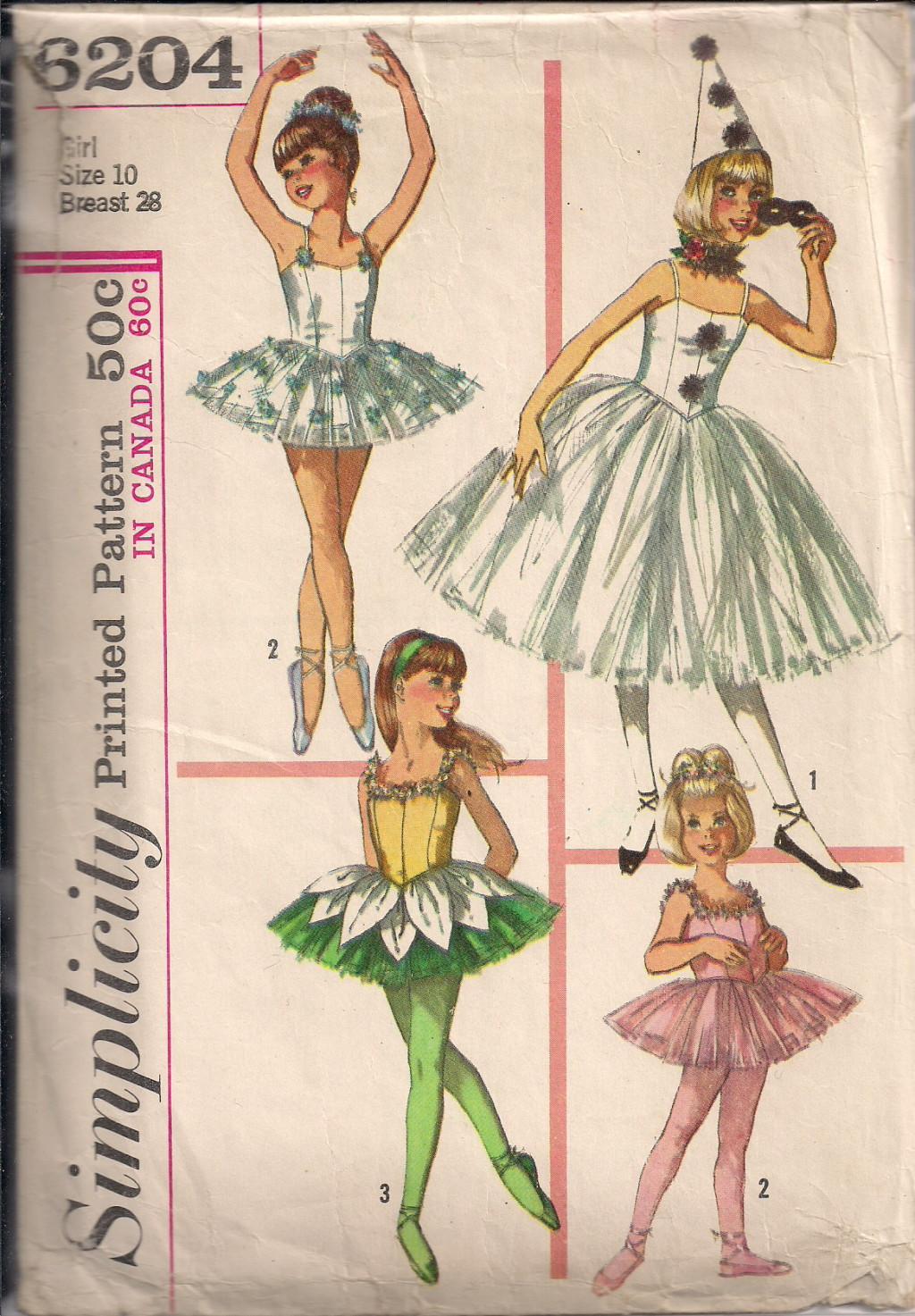 Vintage Ballet Costume 32