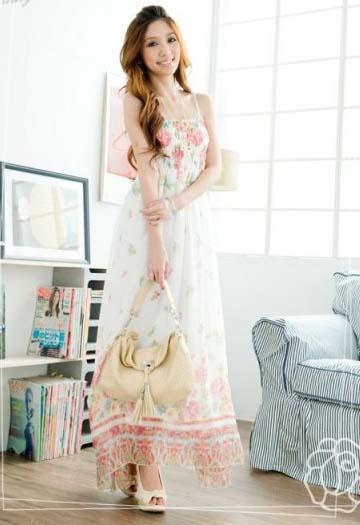 сарафаны из шифона фото - Мода и модные.