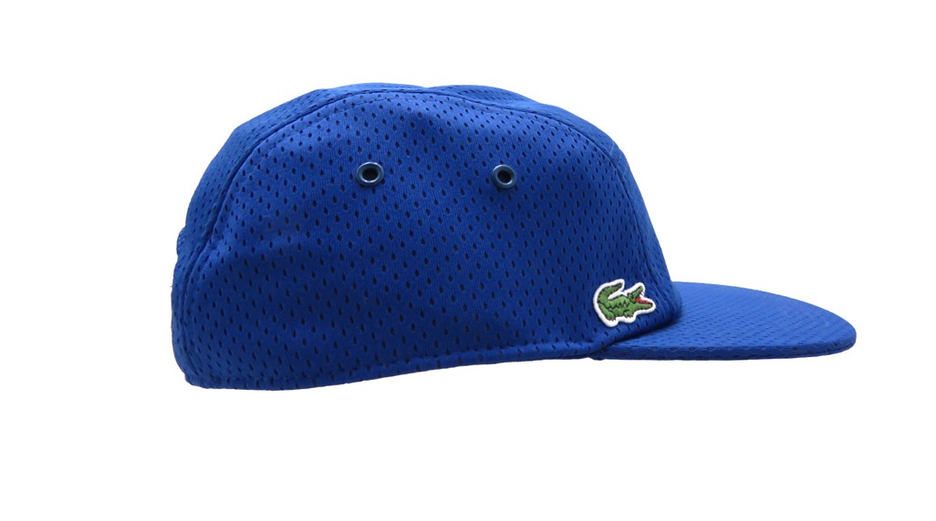 Lacoste L!Ve Men s Mesh Volley 5 Panel Camp Hat Cap Size L  59cm ... 6ed5cb15003