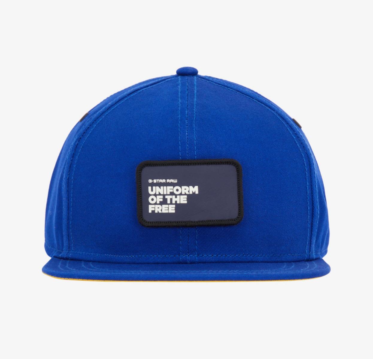 21d29e981003d G-Star RAW Data Snapback Cap Hat in Hudson Blue, BNWT 8719764249465 ...