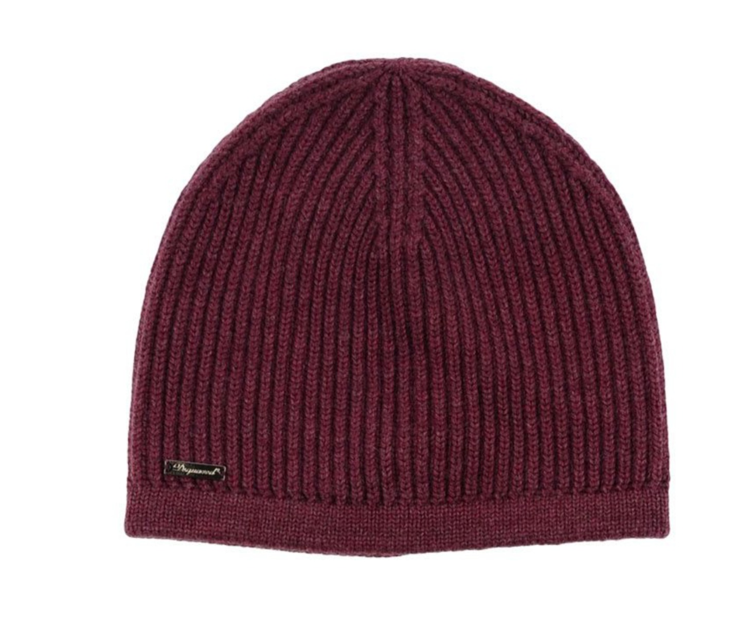 47322cc32 Details about DSQUARED2 Unisex Wool Knit Beanie Hat in Deep Purple Made in  ITALY BNWT $230