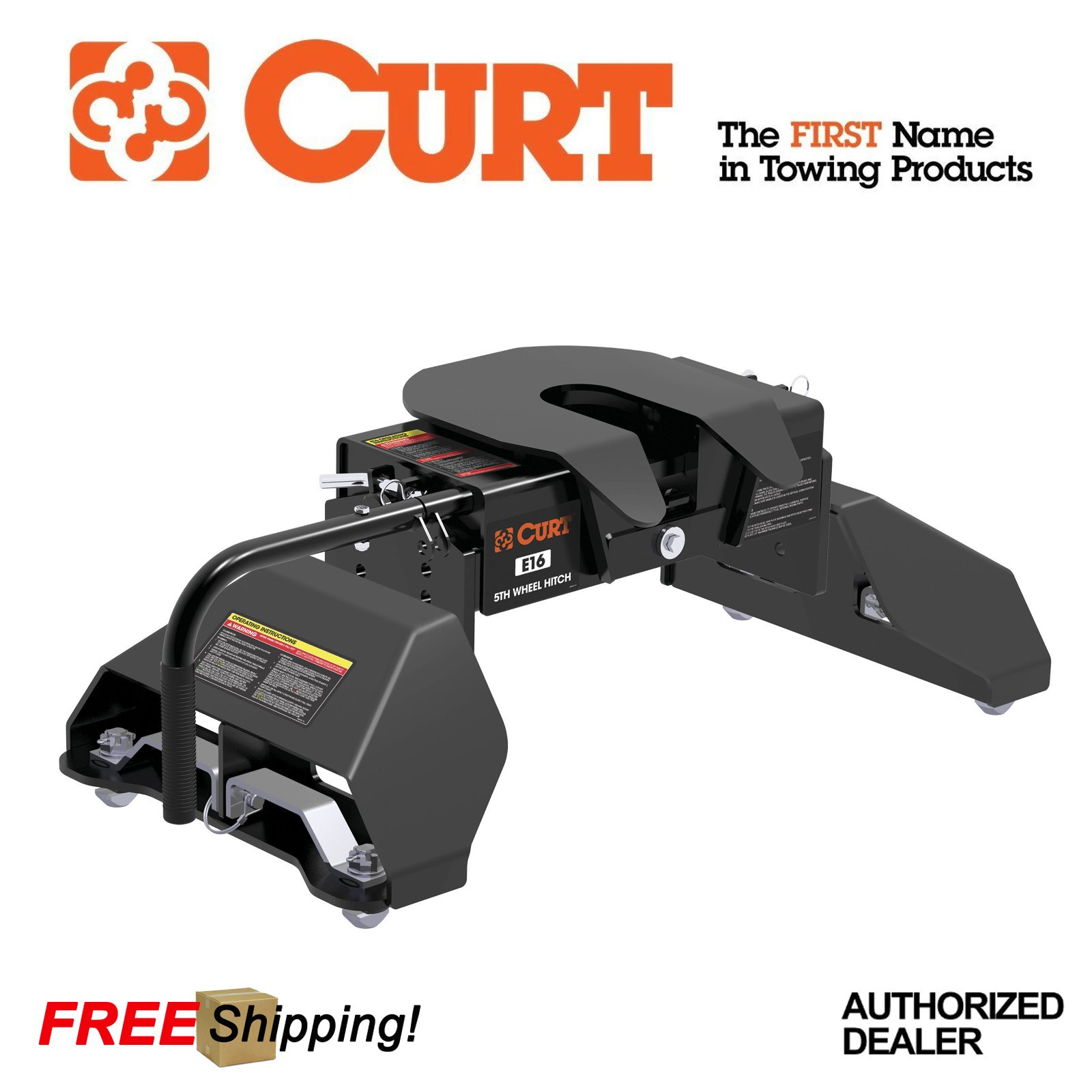 Details About Curt Manufacturing E16 5th Wheel Hitch For 11 19 Ford F250 F350 With Puck System