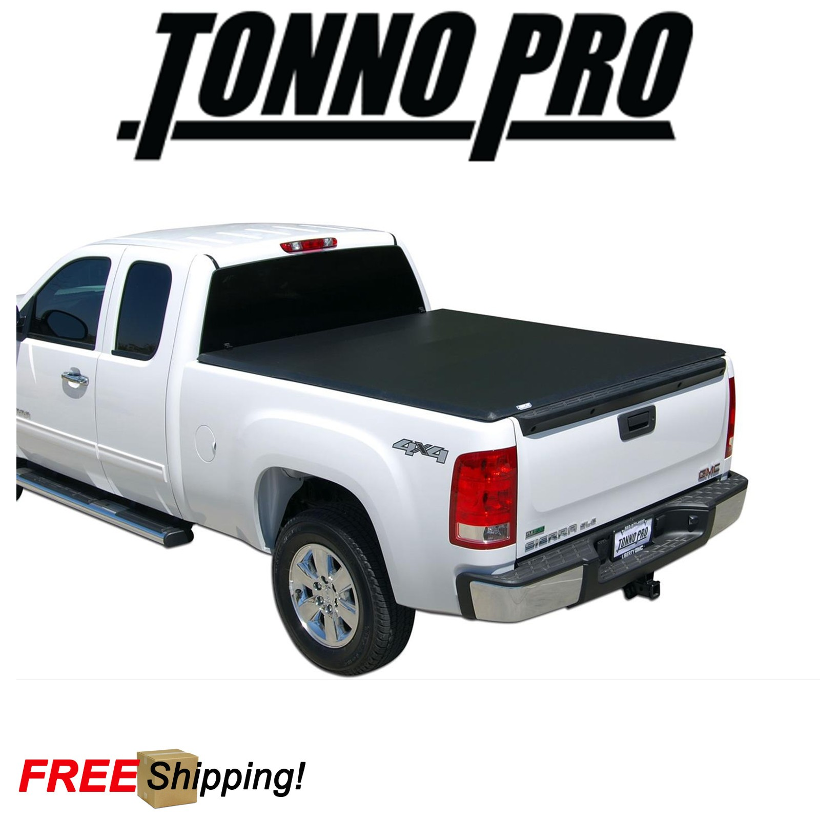 Toyota Tundra Bed Cover >> Details About Tonno Pro Tri Fold Soft Tonneau Cover Fits 2014 2017 Toyota Tundra 6 5 Bed