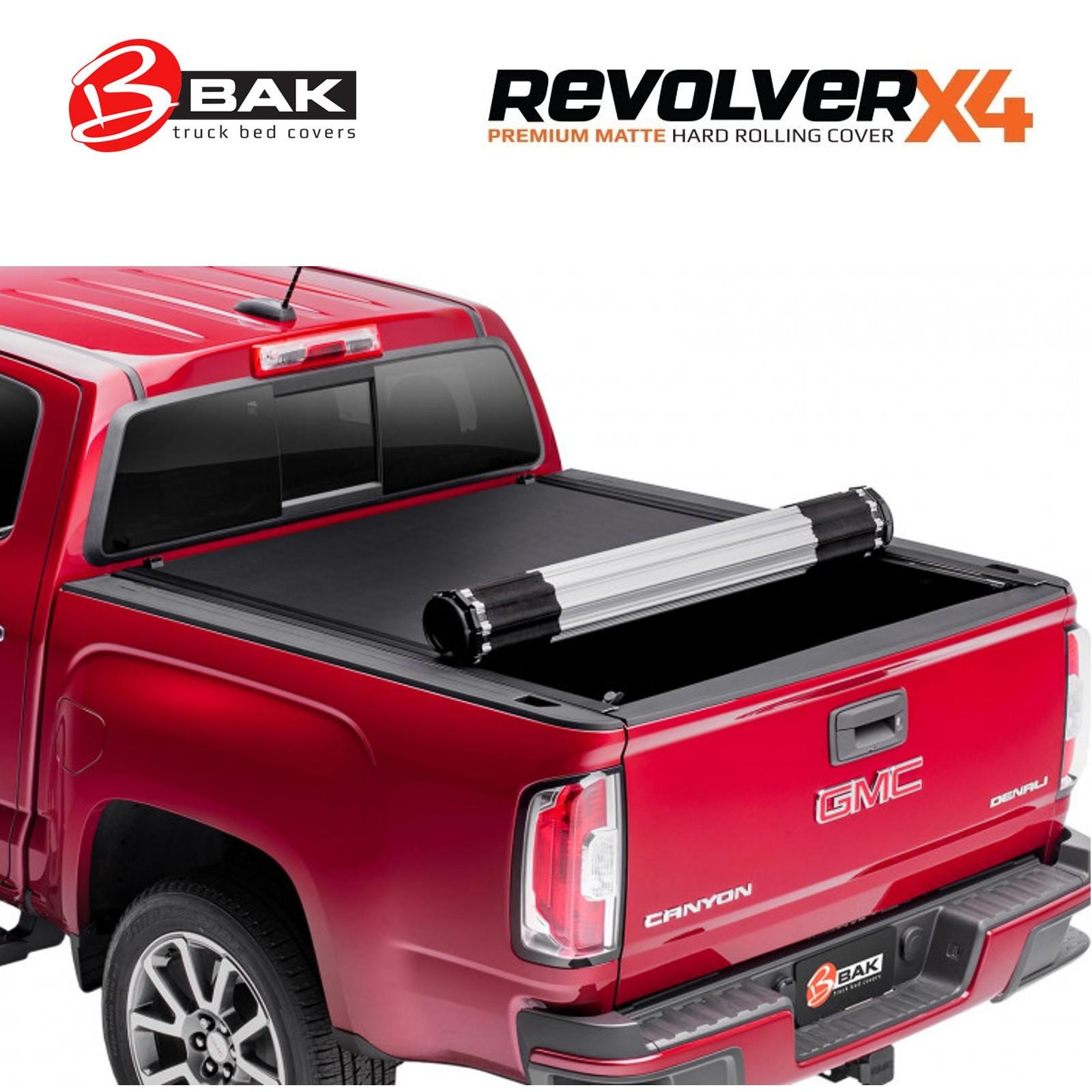 Bak Revolver X4 Hard Roll Up Tonneau Cover For 2019 2020 Ram 1500