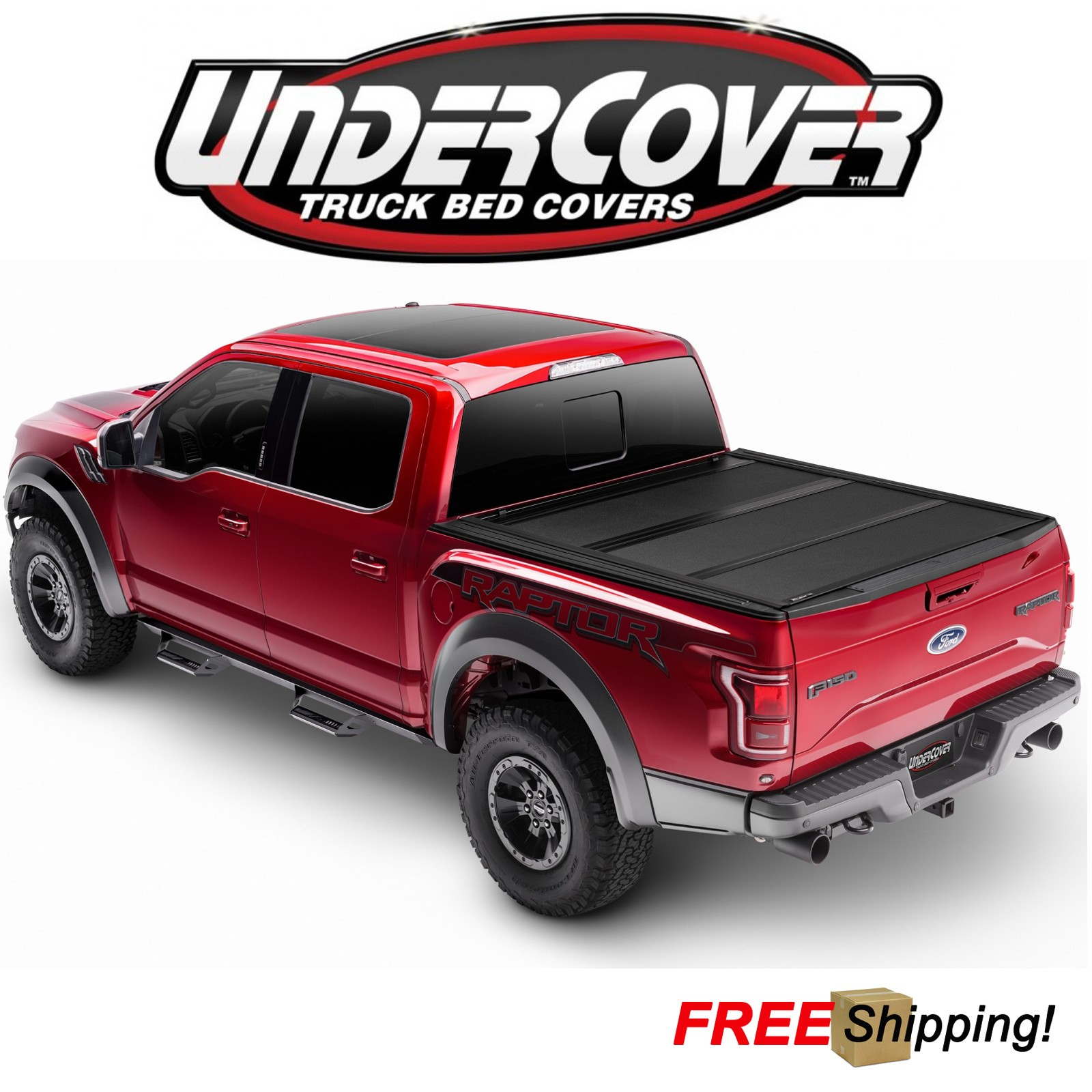 Undercover Armor Flex Hard Folding Bed Cover Fits 2019 Ram 1500 5 7