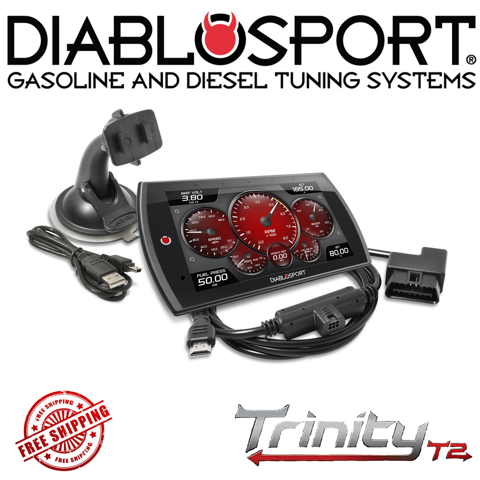 2.0 L Ecoboost >> Details About Diablosport Trinity T2 Ex Platinum Tuner Monitor 13 16 Ford Focus 2 0l Ecoboost