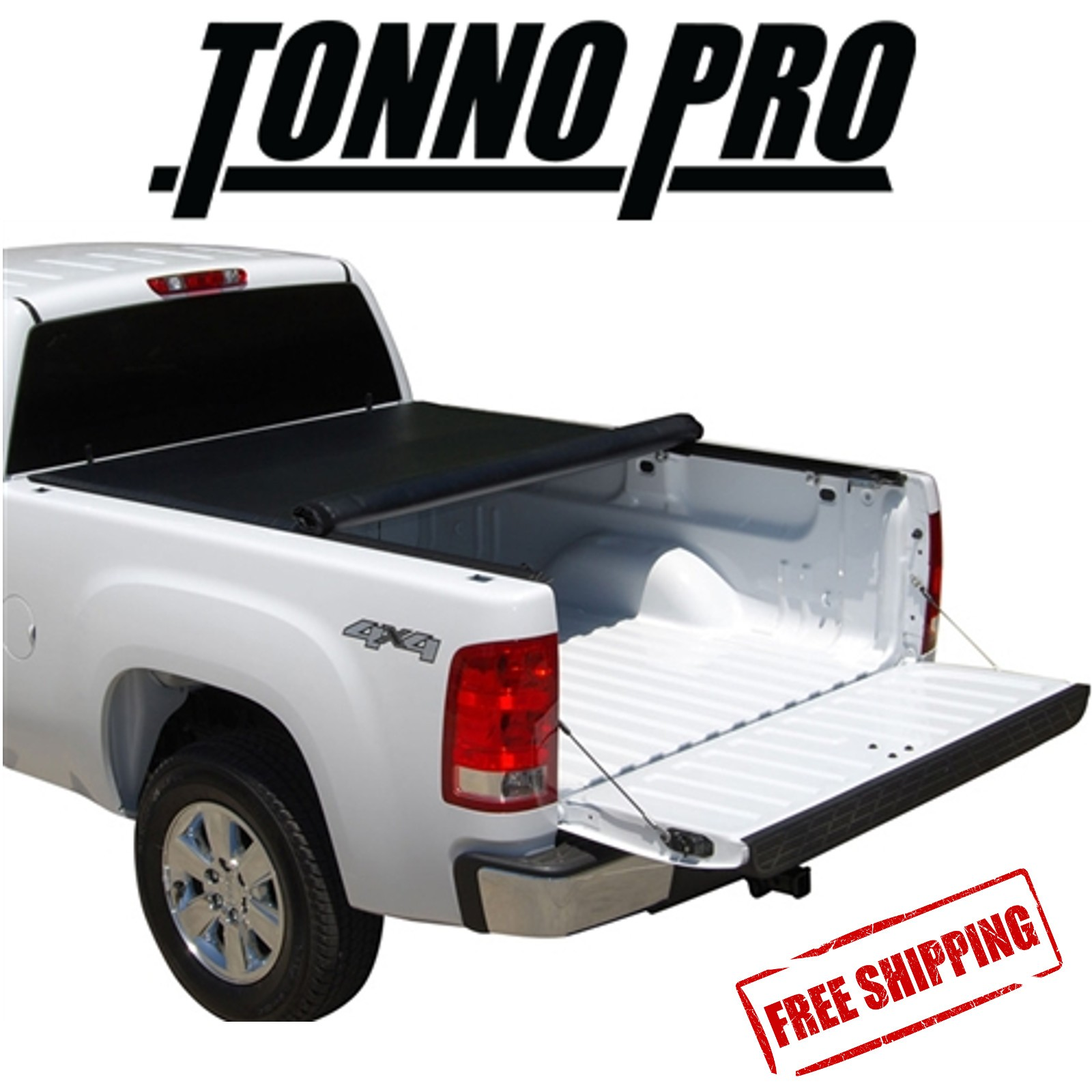 Toyota Tundra Bed Cover >> Details About Tonno Pro Lo Roll Soft Tonneau Cover Fits 2007 2017 Toyota Tundra 5 5 Bed