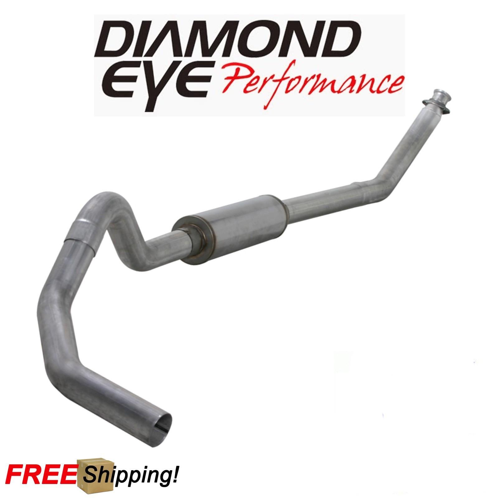 Details about Diamond Eye 4 Inch Turbo Back Exhaust For 94-98 Dodge Ram  5 9L Diesel W/ Muffler
