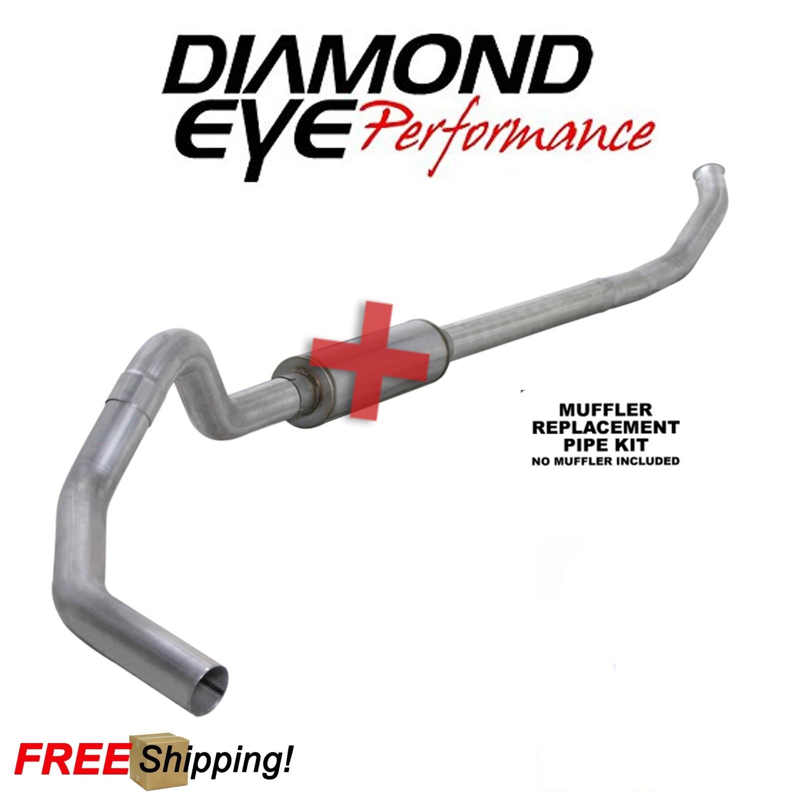 "04.5-07 Diamond Eye Dodge Ram Diesel Truck 5/"" Aluminized Down Pipe"