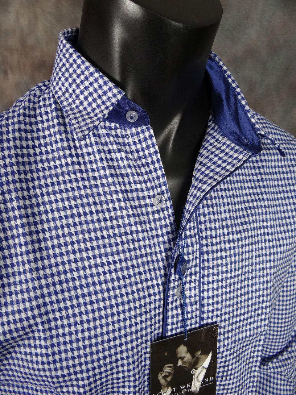 New Scott Weiland English Laundry Shirt Flockton Moor In