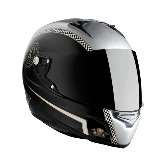 ship same day* nexx xr1r cafe racer motorcycle helmet