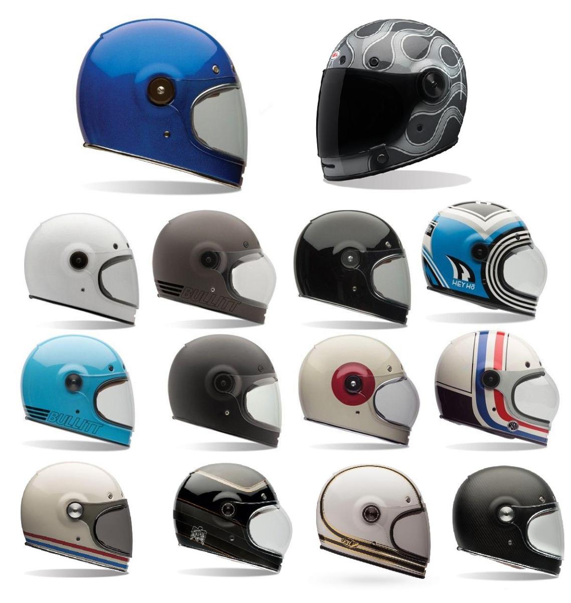 FAST SHIPPING* Bell Bullitt Retro Motorcycle Helmet ALL COLORS, ALL ...