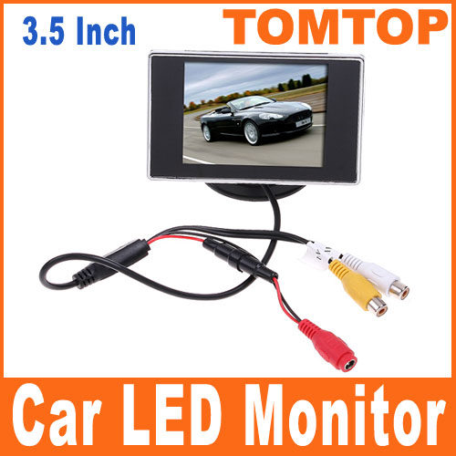 Hign Definition Car Beautiful Color TFT LCD Monitor Rearview DVD