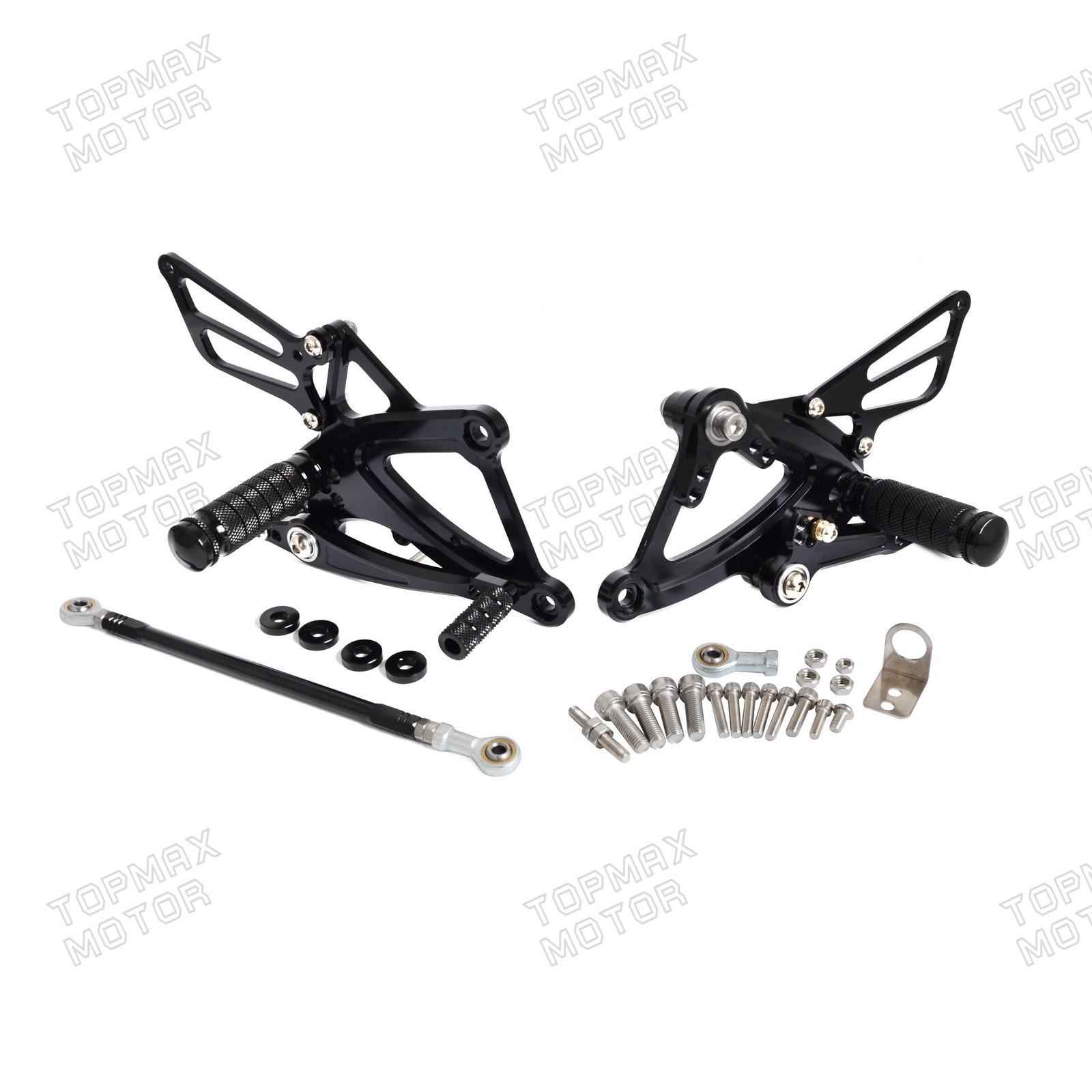 CNC Rearsets FootPeg Footrest For Honda CBR500R//400R CB500F//400F 2013-2015 Red