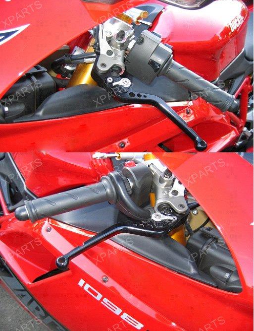 1993-2002 S-TYPE 3D CNC Short Clutch Brake Levers For Yamaha XJ600S Diversion