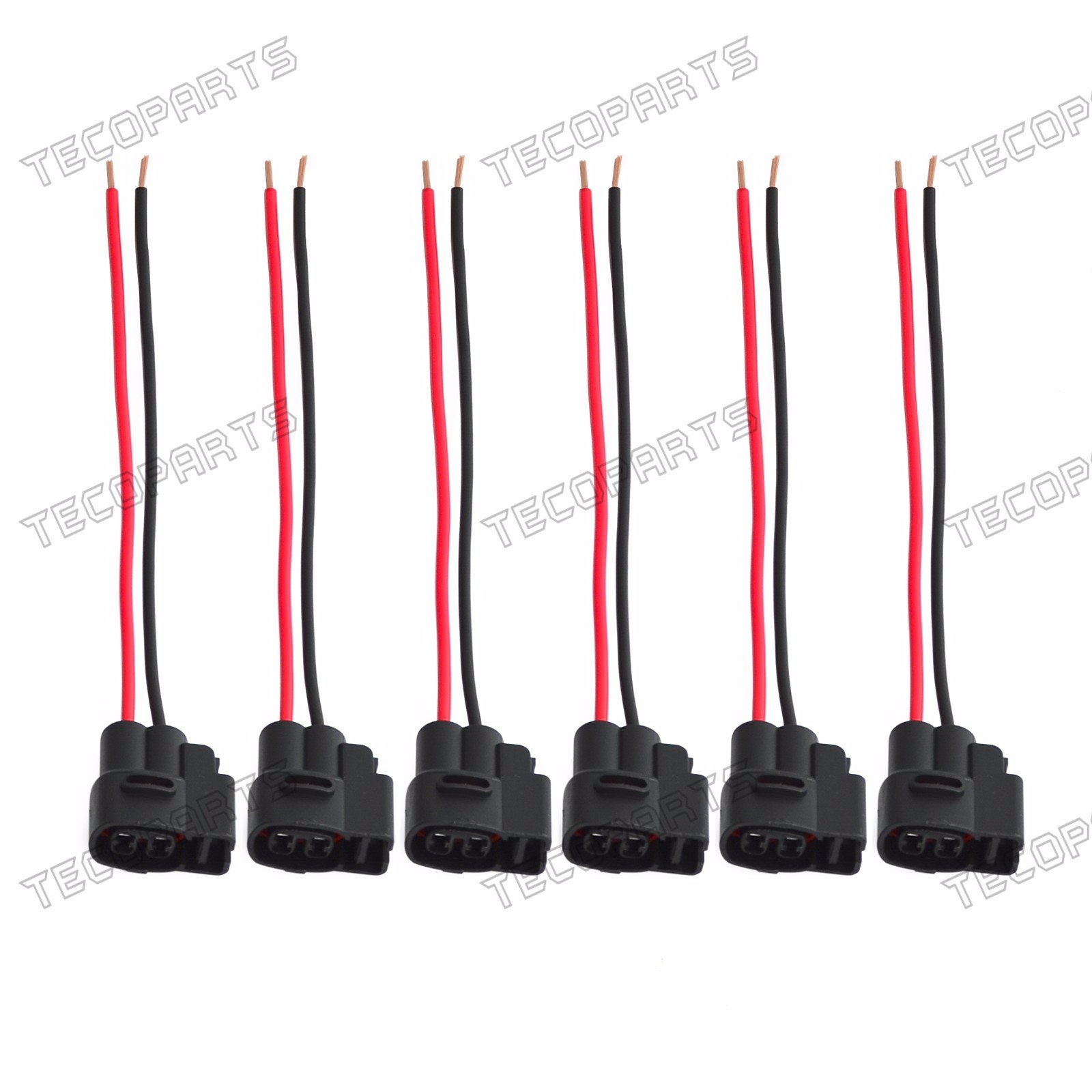 6 x Ignition Coil Connector Pigtail Plug Harness for Lexus GS/IS/SC300  LS/SC400